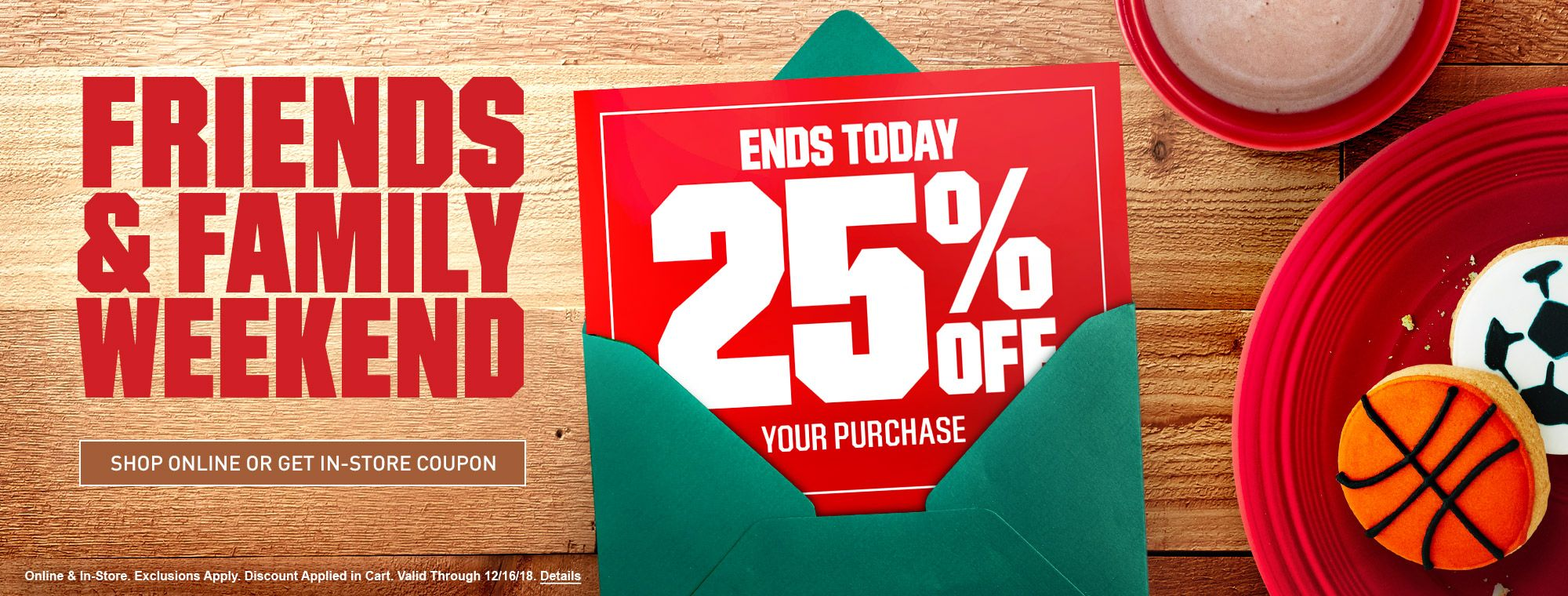 2 Days Only - 25% Off Your Purchase
