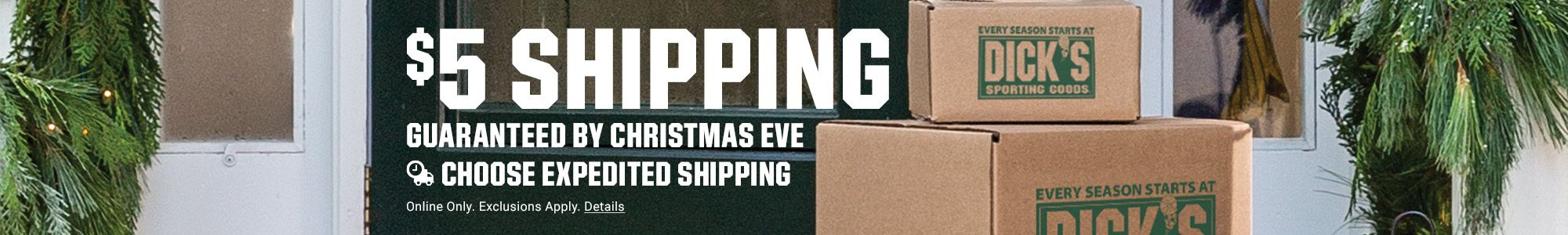 $5 Shipping - Guaranteed By Christmas Eve - Choose Expedited Shipping