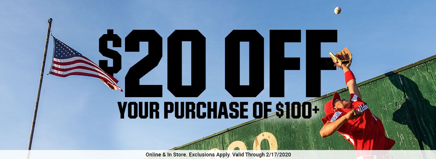 20% OFF - YOUR ENTIRE PURCHASE ONLINE & IN -STORE