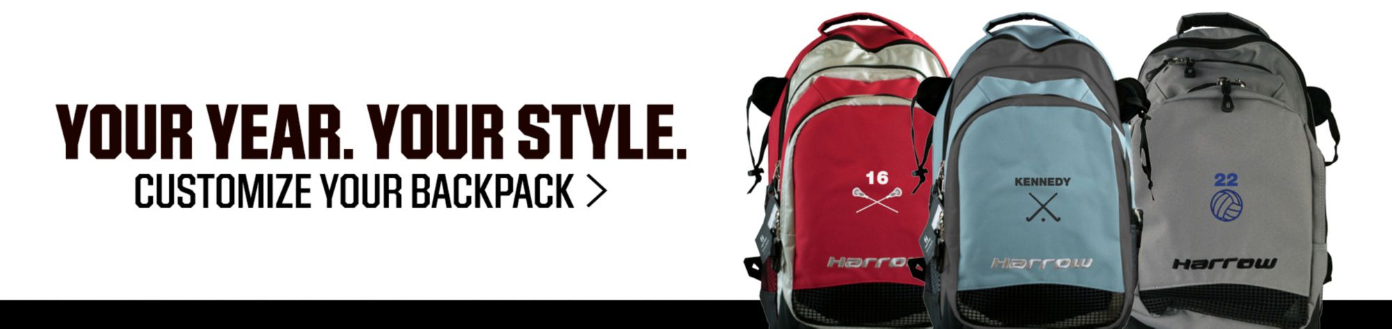 Your year. Your style. Customize your backpack >