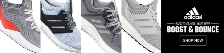 Adidas Boost and Adidas Bounce Footwear