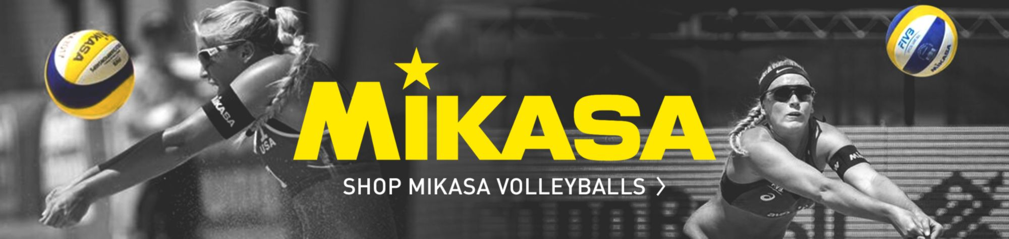 Shop Mikasa Volleyballs Now