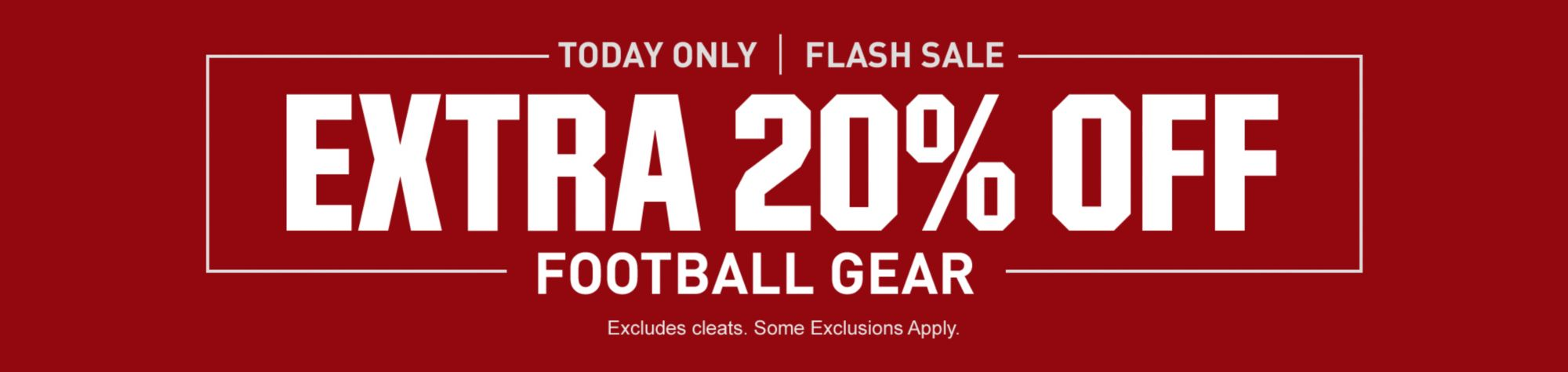 Football Flash Sale - Shop Now