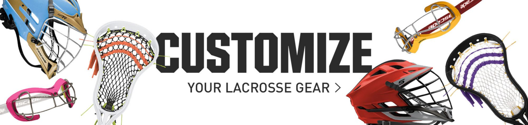 Customize Your Lacrosse Gear