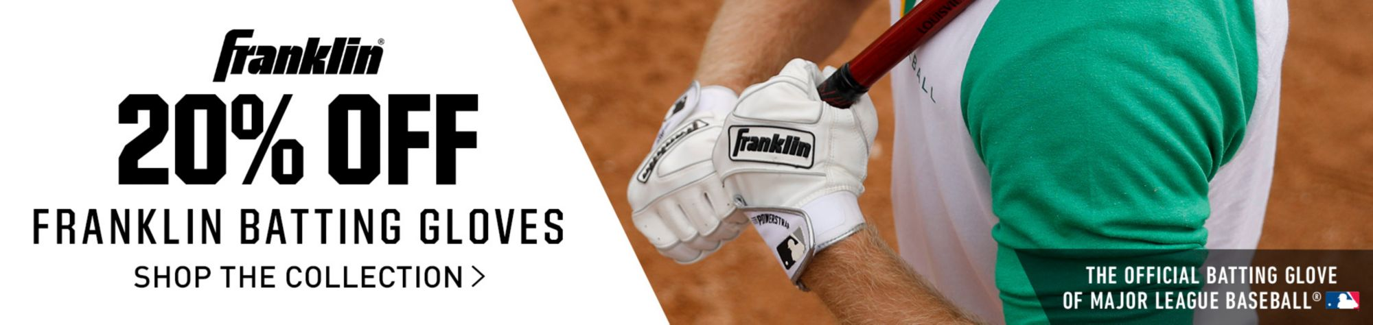 20% Off Franklin Batting Gloves - Shop The Collection
