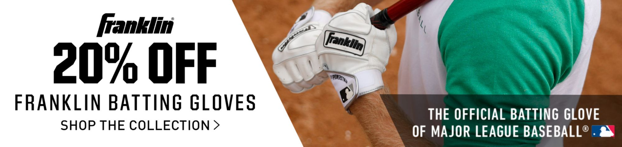 20% Off Franklin Batting Gloves Holiday
