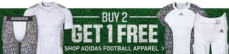 Buy 2 Get 1 free Shop Adidas Football Apparel