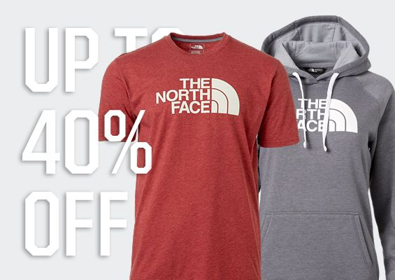 Up To 40% Off - The North Face Select Past-Season Styles