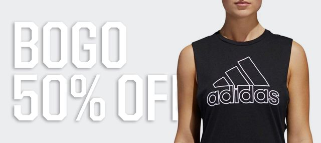 BOGO 50% Off | Select adidas Apparel