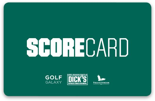 Dicks scorecard number